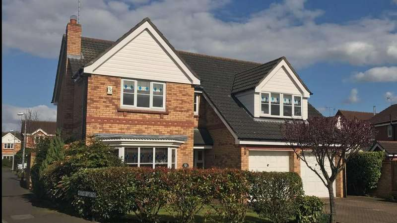 4 Bedrooms Detached House for sale in Bracken Road, Driffield