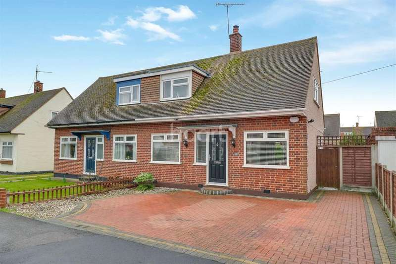 2 Bedrooms Semi Detached House for sale in Benfleet