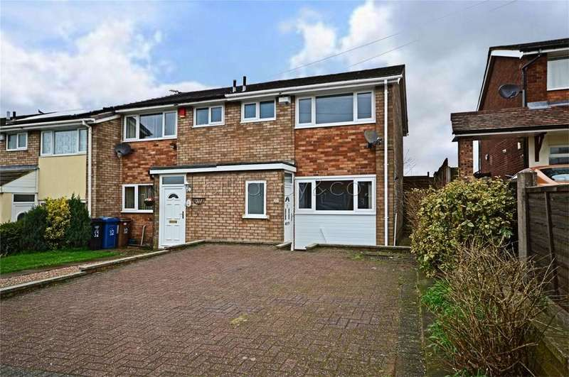 3 Bedrooms Semi Detached House for sale in Summerfield Road, Burntwood, Staffordshire