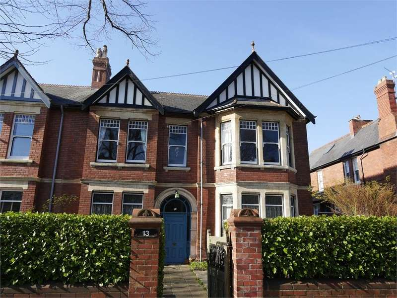 3 Bedrooms Flat for sale in 13 Archer Road, Penarth