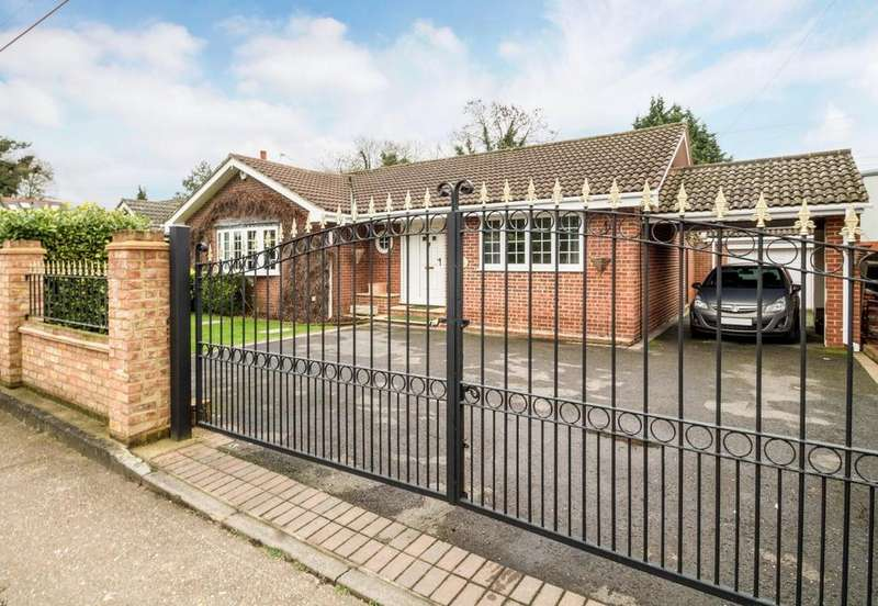 3 Bedrooms Detached Bungalow for sale in Mill Lane, Horton, SL3