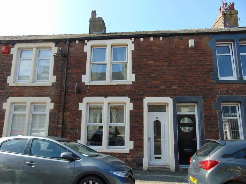 2 Bedrooms Terraced House for sale in 15 Gray Street, Workington, Cumbria, CA14 2NH