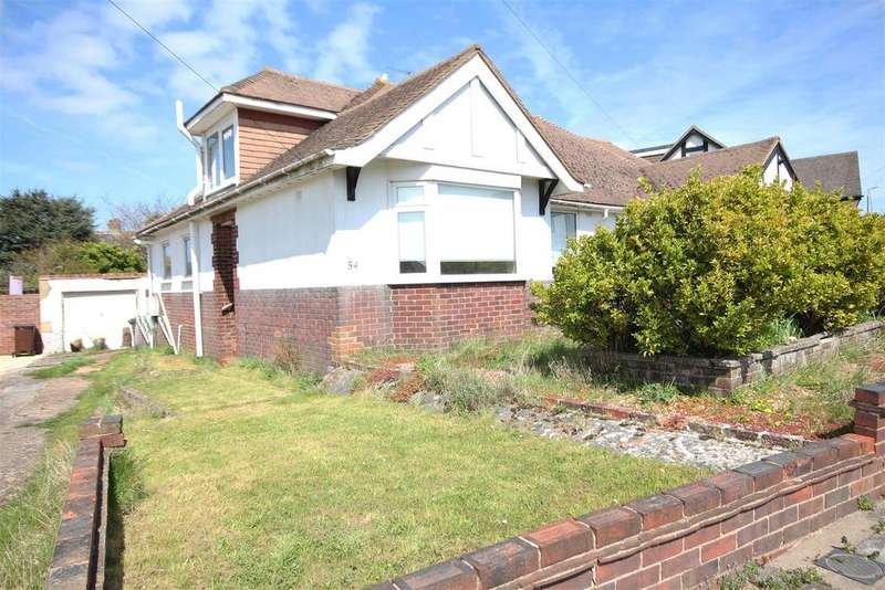 3 Bedrooms Semi Detached Bungalow for sale in Larkfield Way, Patcham, Brighton