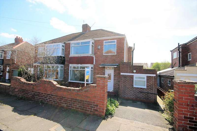 3 Bedrooms Semi Detached House for sale in Hillcrest Avenue, Stockton-On-Tees