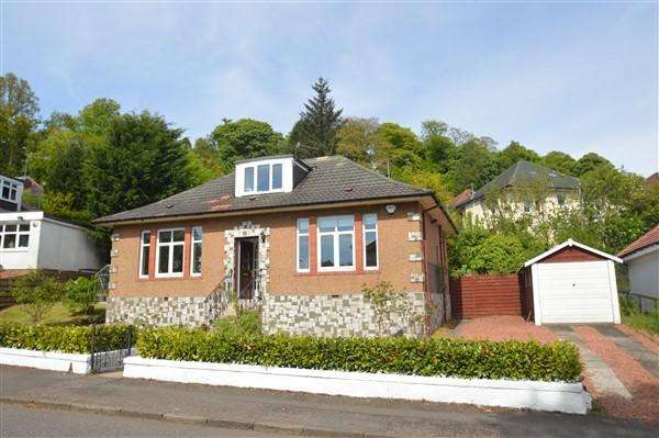3 Bedrooms Detached Bungalow for sale in 8 Kilmardinny Avenue, Bearsden, G61 3NT