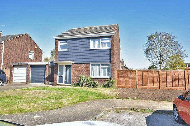 4 Bedrooms Detached House for sale in Martin Square, Larkfield