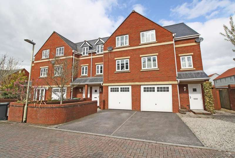 4 Bedrooms Town House for sale in Exeter, Devon