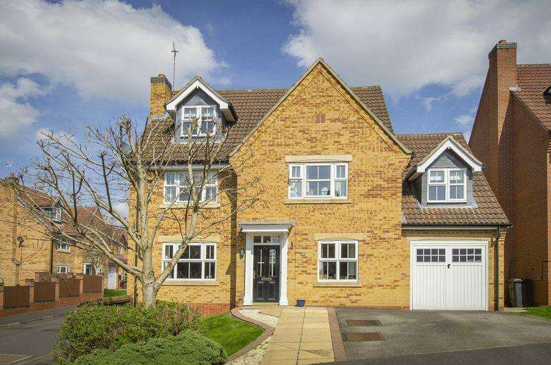 5 Bedrooms Detached House for sale in WOODCOTE WAY, LITTLEOVER