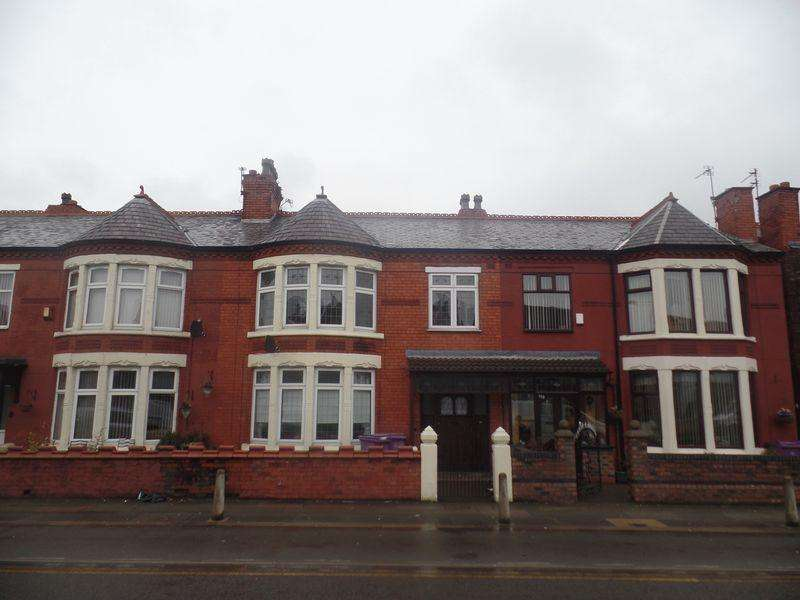 4 Bedrooms Terraced House for sale in 117 Queens Drive, Liverpool