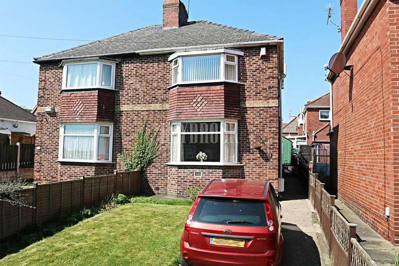 2 Bedrooms Semi Detached House for sale in Hunningley Close, Stairfoot