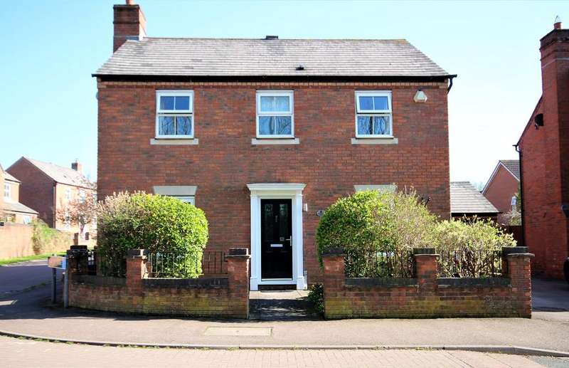 4 Bedrooms Detached House for sale in Browning Road, Ledbury, HR8