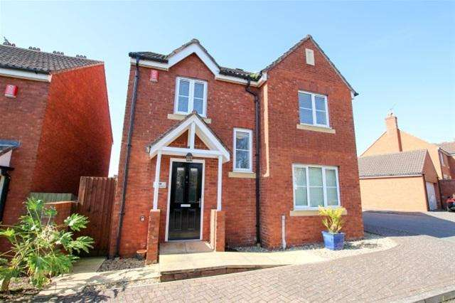 4 Bedrooms Detached House for sale in Oak Apple Drive, Bridgwater