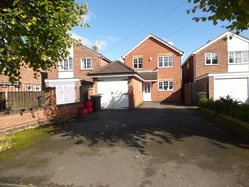 4 Bedrooms Detached House for sale in Whitehill Road, Ellistown LE67