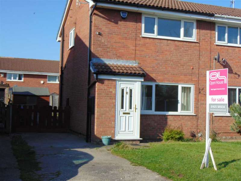 2 Bedrooms Semi Detached House for sale in Newsham Close, WIDNES