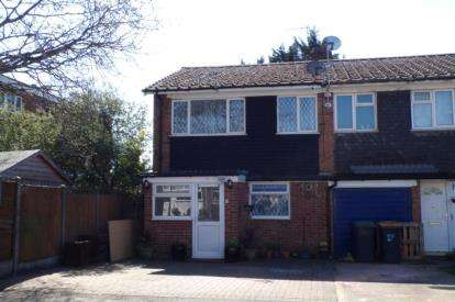 4 Bedrooms End Of Terrace House for sale in Henderson Way, Kempston, Bedford, Bedfordshire