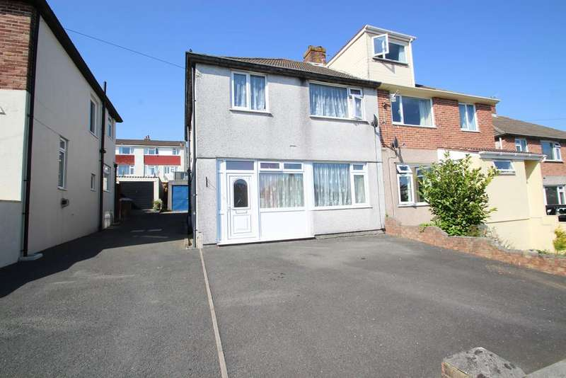 3 Bedrooms Semi Detached House for sale in Crossway, Plymouth