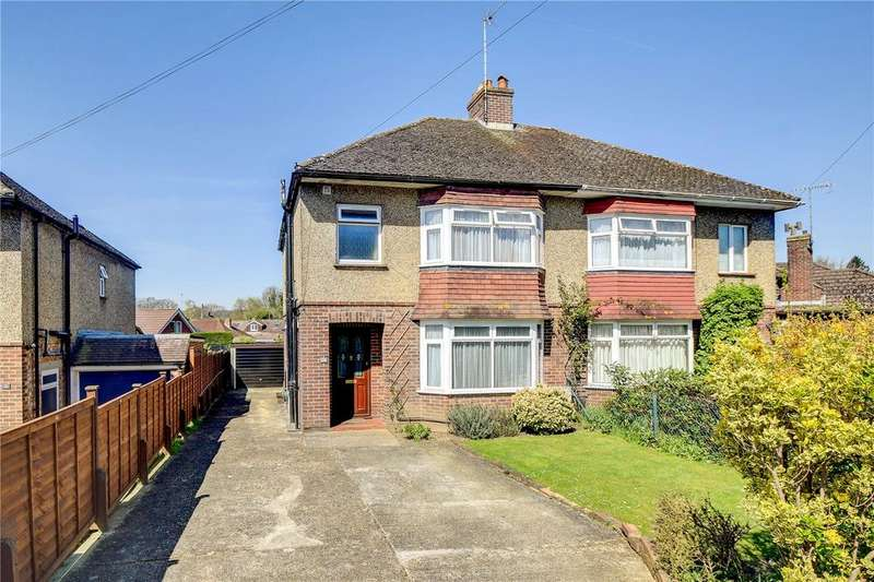 3 Bedrooms Semi Detached House for sale in Oaklands Road, Petersfield, Hampshire