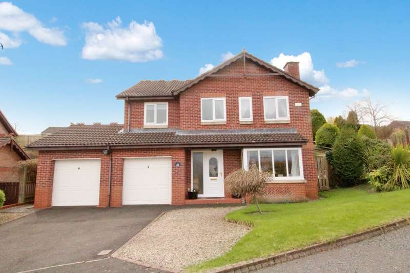 4 Bedrooms Detached House for sale in The Chase, Hexham