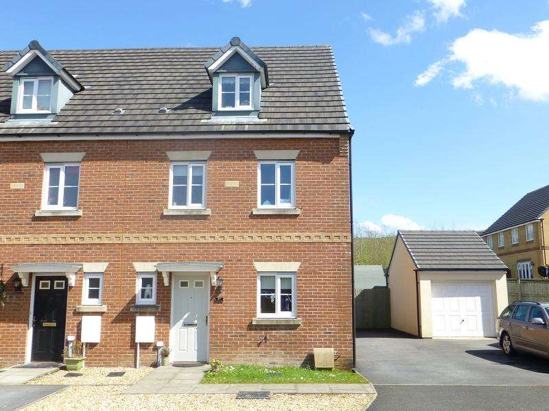 4 Bedrooms End Of Terrace House for sale in Ffordd Y Glowyr , Betws, Ammanford, Carmarthenshire.