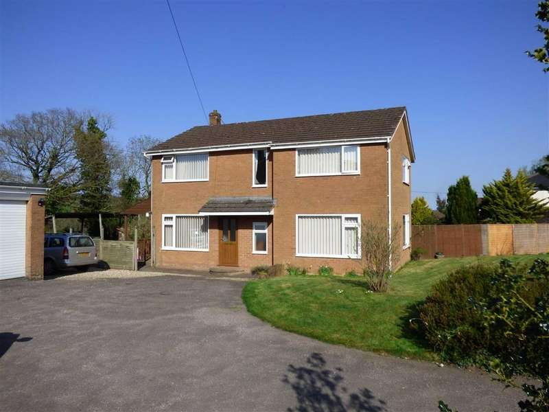 4 Bedrooms Detached House for sale in Calverleigh, Tiverton, Devon, EX16