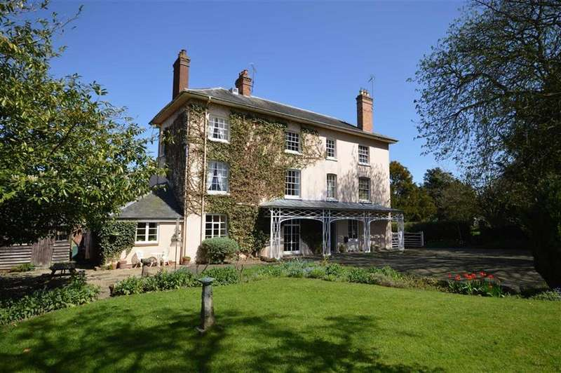 7 Bedrooms Detached House for sale in The Old Vicarage, Orleton, Ludlow, Shropshire, SY8
