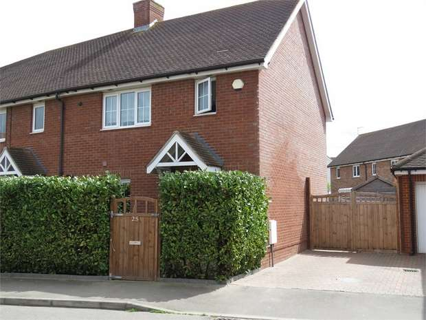 3 Bedrooms End Of Terrace House for sale in Mulberry Way, SITTINGBOURNE, Kent