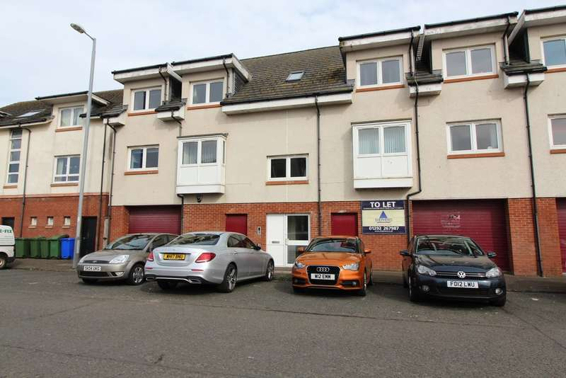 2 Bedrooms Flat for sale in Peebles Street, Ayr, KA8