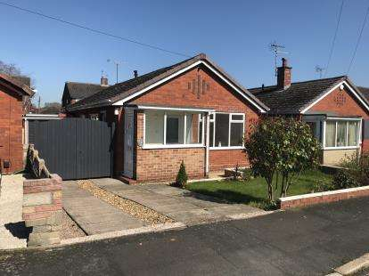 2 Bedrooms Bungalow for sale in Fox Grove, Clayton, Newcastle Under Lyme, Staffs