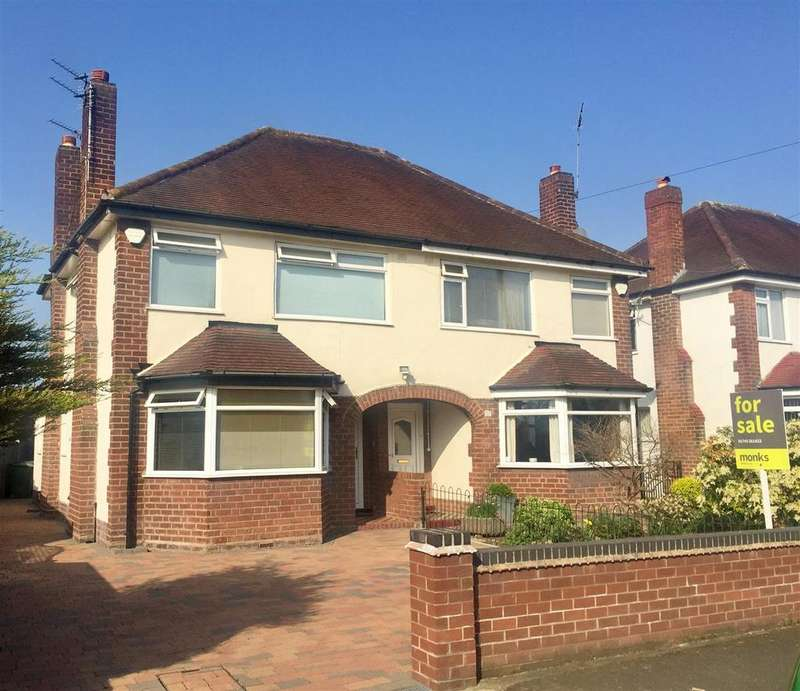 3 Bedrooms Semi Detached House for sale in Sundorne Avenue, Shrewsbury