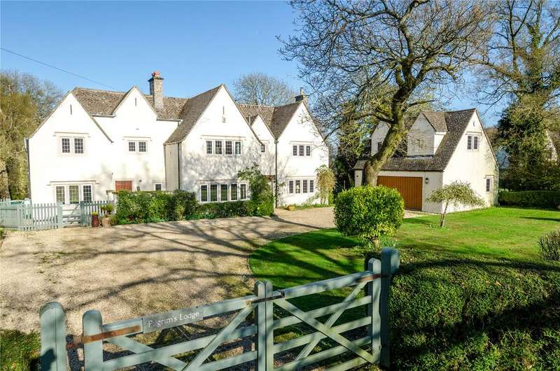 5 Bedrooms Detached House for sale in Stinchcombe Hill, Dursley, Gloucestershire