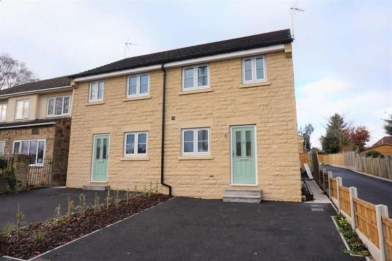 3 Bedrooms Semi Detached House for sale in Adlington Avenue, Wingerworth, Chesterfield