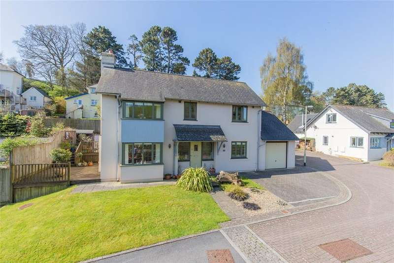 4 Bedrooms Detached House for sale in Quarry Close, Totnes, TQ9