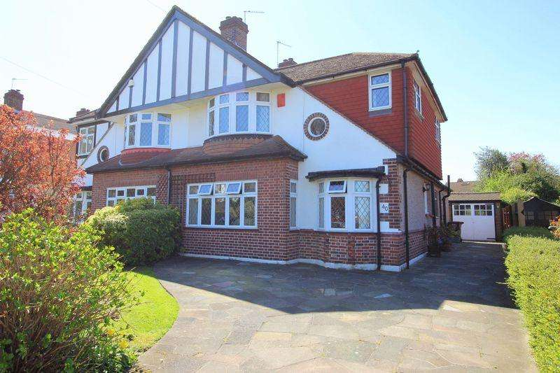 4 Bedrooms Semi Detached House for sale in Farwell Road, Sidcup DA14 4LG