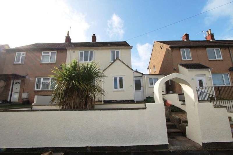 3 Bedrooms Semi Detached House for sale in Eastover Road, High Littleton, Bristol