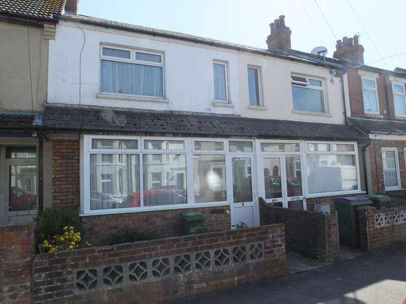 2 Bedrooms Terraced House for sale in Park Road, Cheriton, Folkestone, CT19