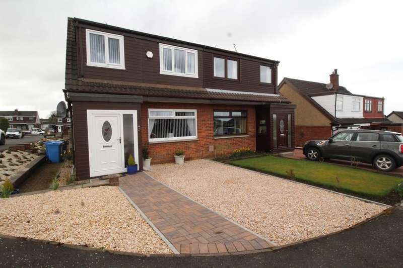 3 Bedrooms Semi Detached House for sale in Kepscaith Road, Whitburn, Bathgate, EH47