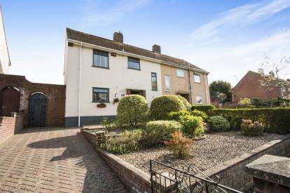 3 Bedrooms Semi Detached House for sale in West Howe, Bournemouth, Dorset
