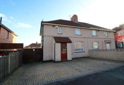 3 Bedrooms Semi Detached House for sale in Willinton Road, Knowle, Bristol