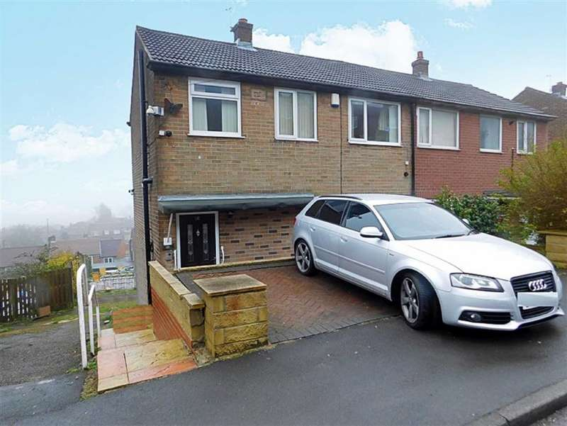 3 Bedrooms Semi Detached House for sale in Knaresborough Drive, Fartown, Huddersfield
