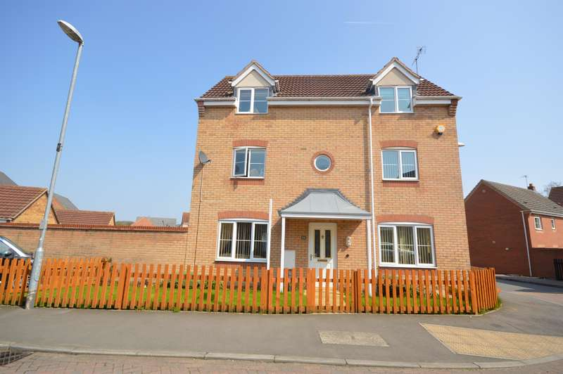 4 Bedrooms Detached House for sale in Goodheart Way, Thorpe Astley, Leicester, LE3 3RX