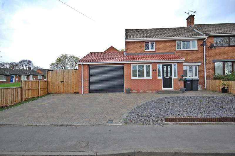 2 Bedrooms End Of Terrace House for sale in Bek Road, Newton Hall, Durham