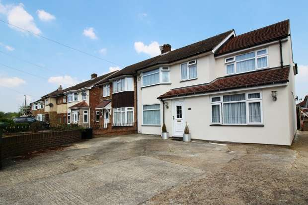 5 Bedrooms Semi Detached House for sale in Lovell Walk, Rainham, Essex, RM13 7ND