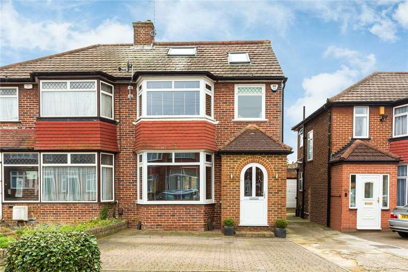 4 Bedrooms Semi Detached House for sale in Anmersh Grove, Stanmore, HA7