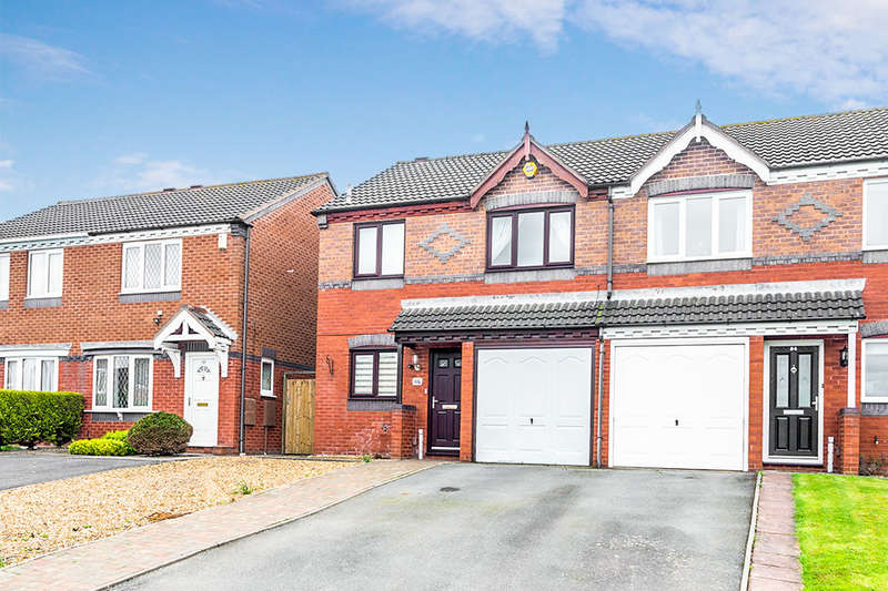 3 Bedrooms Semi Detached House for sale in Marlborough Way, Newdale, Telford, TF3