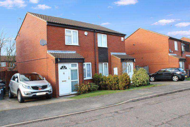2 Bedrooms Semi Detached House for sale in Sparrow Close, Luton