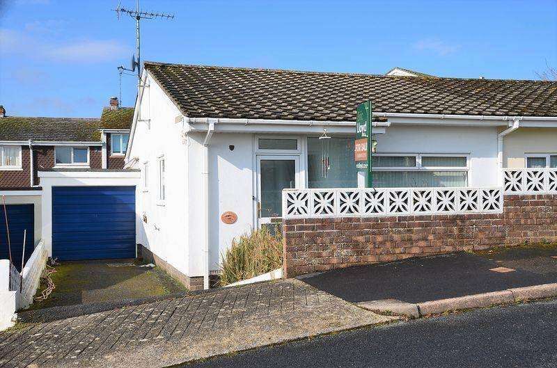 2 Bedrooms Semi Detached Bungalow for sale in SPEEDWELL CLOSE, BRIXHAM