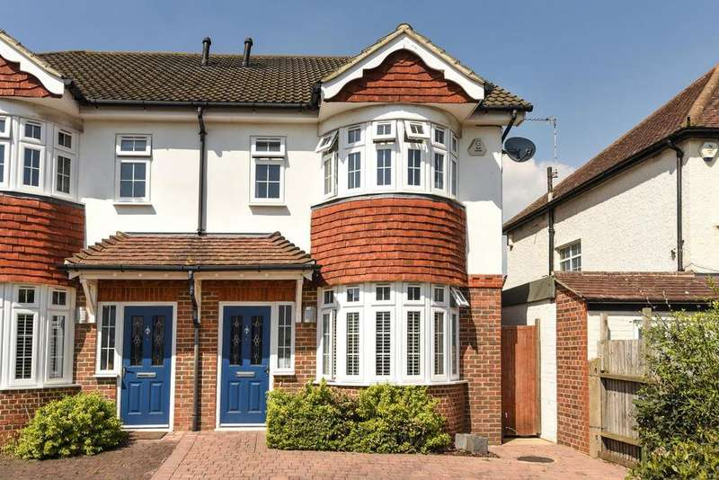 4 Bedrooms Semi Detached House for sale in Broad Walk, Blackheath