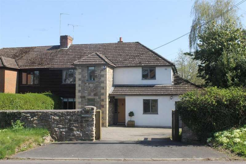 4 Bedrooms Semi Detached House for sale in Manor Road, Abbots Leigh, Bristol