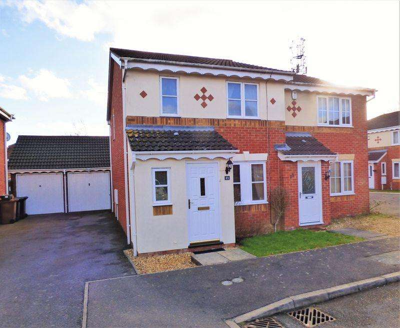 3 Bedrooms Semi Detached House for sale in Curlbrook Close, Northampton