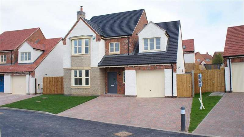 4 Bedrooms Detached House for sale in Spencer Close (Plot 3), Glenfield